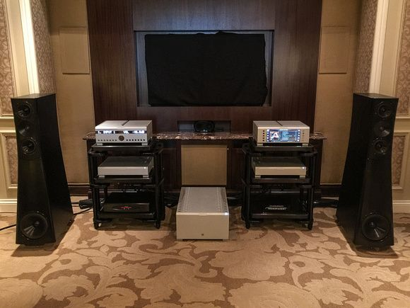 CES 2015: Loudspeakers and Electronics $20k and Up | The Absolute Sound YG Acoustics Sonja ($74k)
