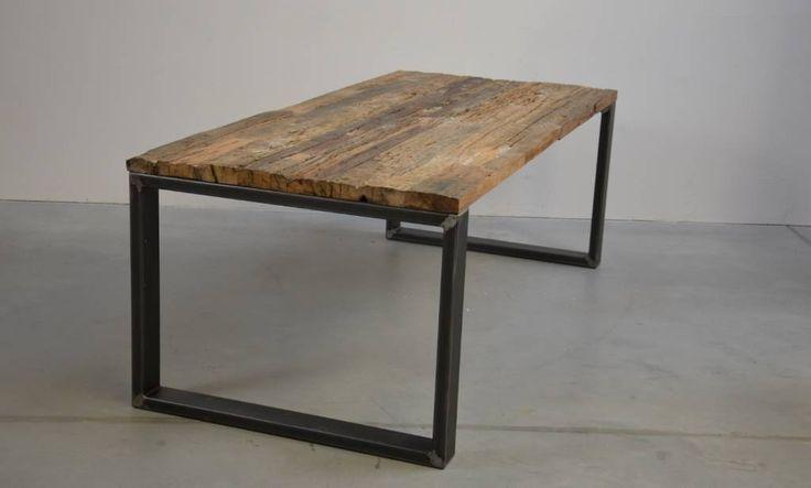 10x4cm Stahl Tischgestell nach Maß : von Tischfabrik24 GmbH & Co. KG