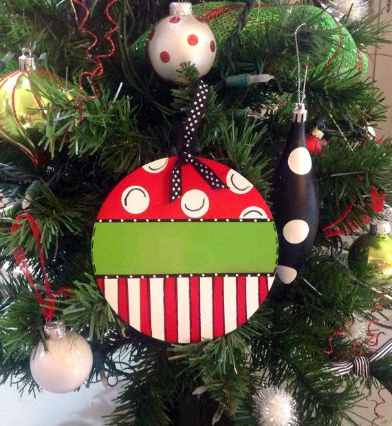 Large+Christmas+Ornament+Personalized+Wooden+by+TheRedWoodBarn