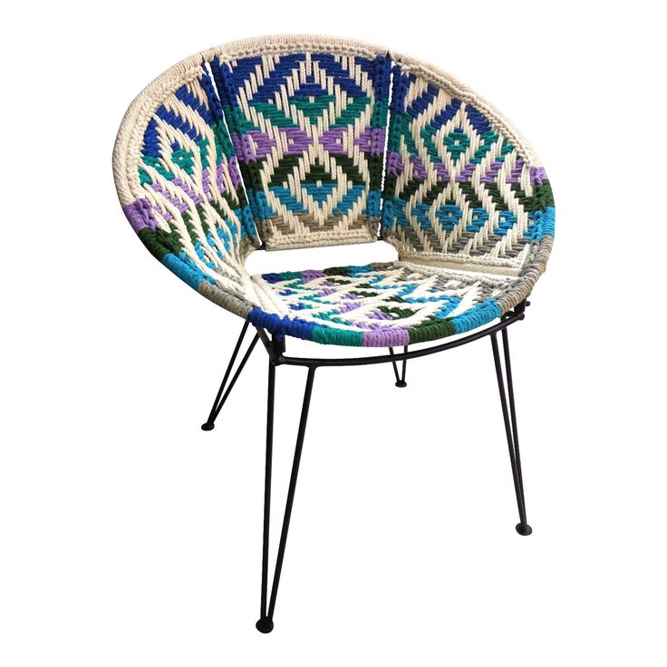 Dream Weaver Patio Chair Ocean - The Family Love Tree