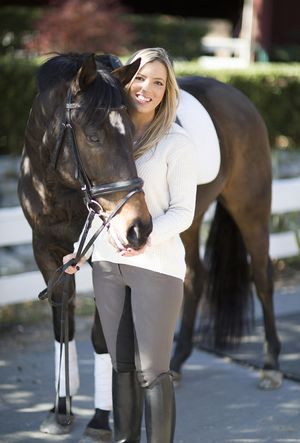 Let's focus on the sport [of dressage] here in the States, the raw talent we have here, and let's do it while wearing made in the USA.