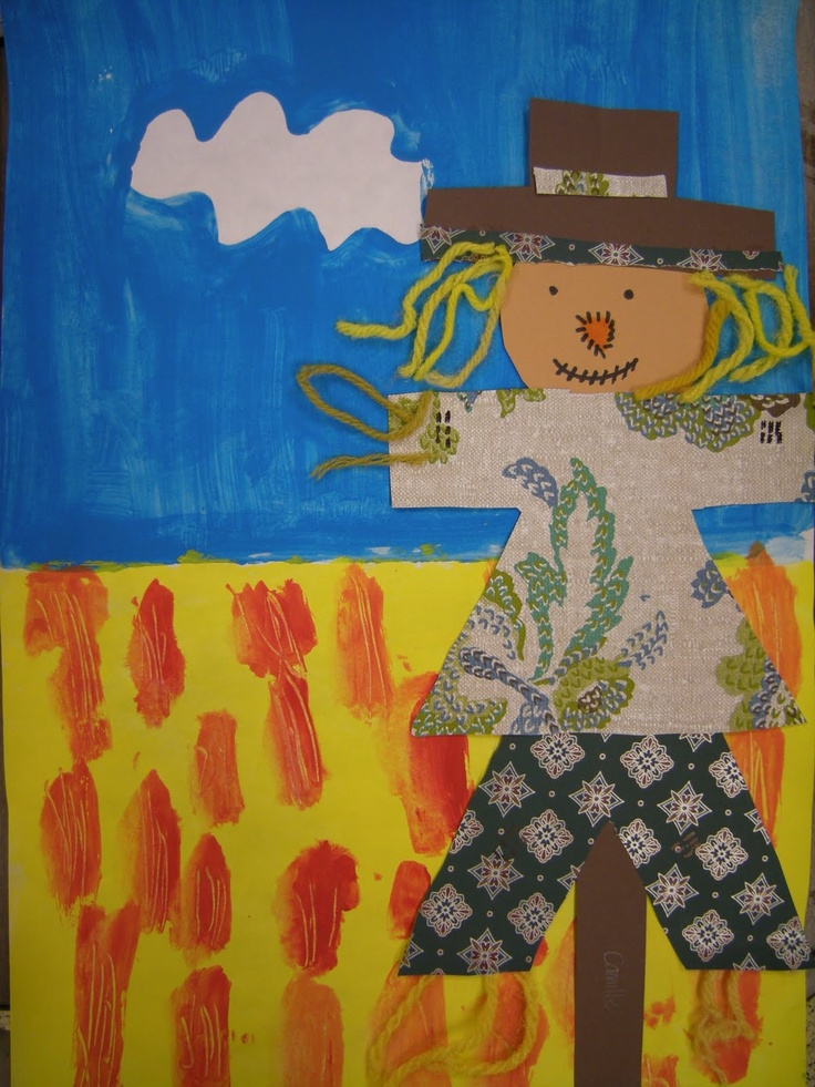 Artolazzi: Scarecrows. Can use my Wall Paper books!!