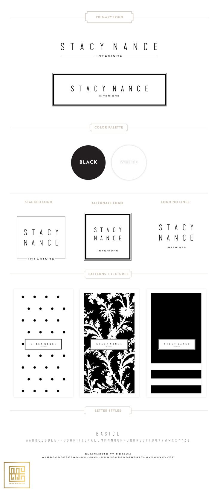 Stacy Nance Branding by Emily McCarthy