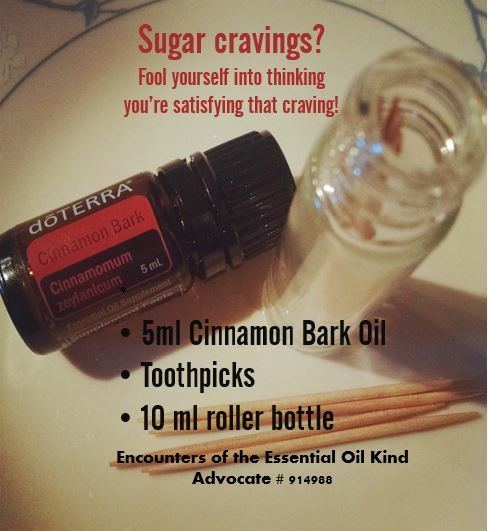 DIY cinnamon toothpicks made with DoTERRA Cinnamon Bark essential oil.