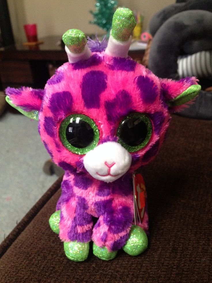 This beanie boo is named Gilbert!!! I like to lick peanut