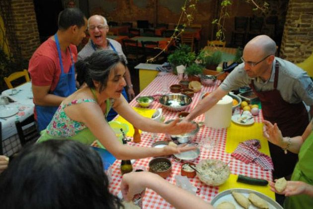 Another opportunity that may be given to you is to try #Athens #Cooking Lesson & #Dinner!