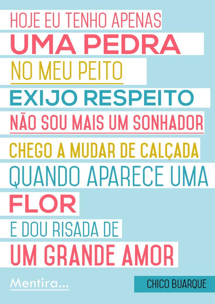My Poster - Chico Buarque