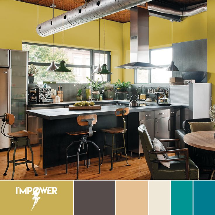 Embracing The Blue Kitchen: 67 Best 2017 Paint Color Trends, The Pendulum Color Story