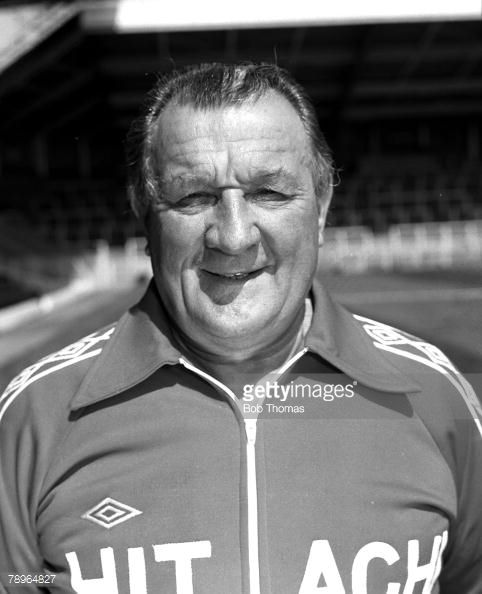 Season Liverpool FC Photocall A portrait of Manager Bob Paisley