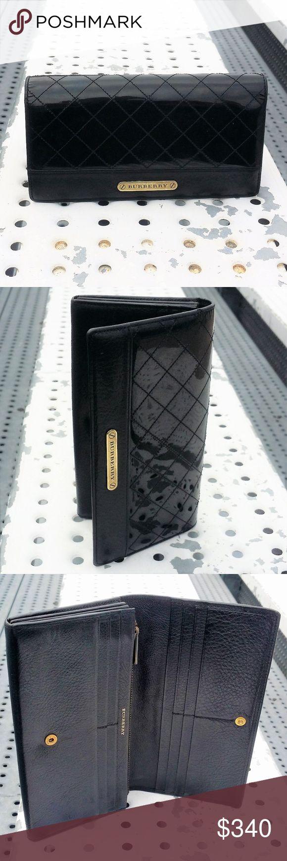 Authentic Burberry Herren Long Zip Wallet Schwarz M029 – Authentic – Echtes Leder …   – My Posh Picks