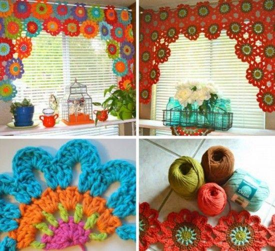 39 Best Ideas About Crochet Curtains On Pinterest Free