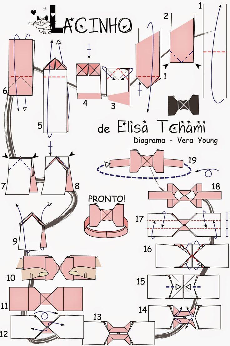 Origami by Tchami: Diagrama - LACINHO