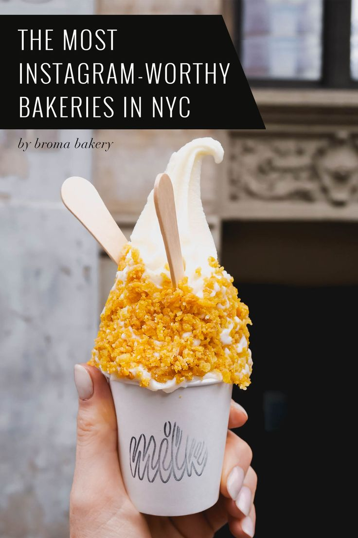 11 of the most Instagram-Worthy bakeries in NYC!