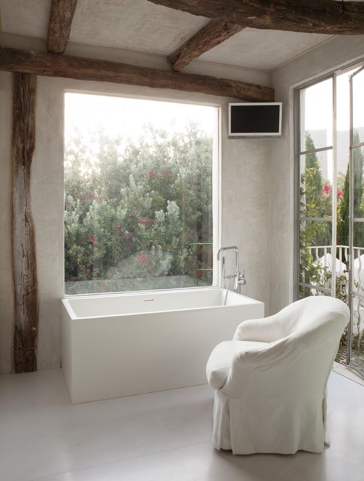 outdoor bathroom vent cover%0A Richard Shapiro u    s Malibu wonder  The white cube bathroom was crafted of  Thassos marble