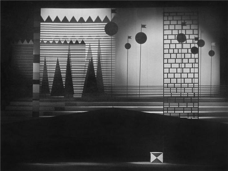 Pozdvižení v Efesu - 25.12.1962 Josef Svoboda - scéna