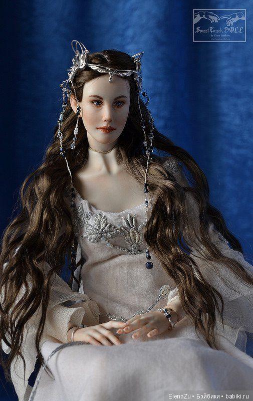 Арвен Ундомиэль, кукла своими руками от SweetTouchDoll / Авторская шарнирная кукла / Бэйбики. Куклы фото. Одежда для кукол