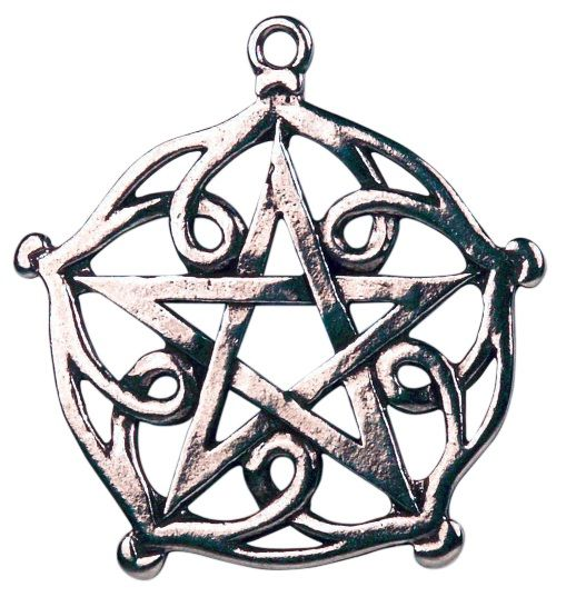 Pentagram of Brisingamen Pendant- This Pentagram of Brisingamen Pendant is reputed to bestow upon the wearer irresistible Beauty and Charm.