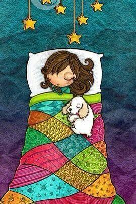 #Buonanotte #cane #stelle