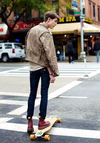 Leather jacket Doc martens Denim jeans All add to perfection  #streetwear