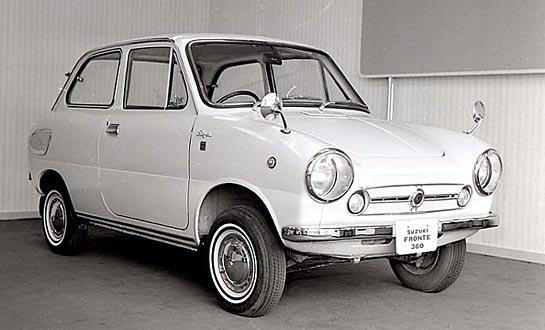 Model Fronte SS 360 LC10 z 1967 roku.