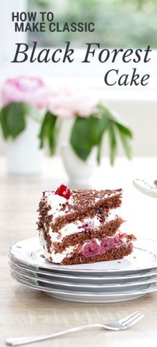 Classic Black Forest Cake - Recipe with Step by Step Instructions for Beginners