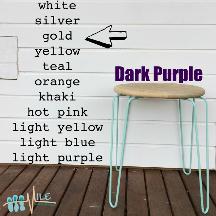Dark purple goes with...