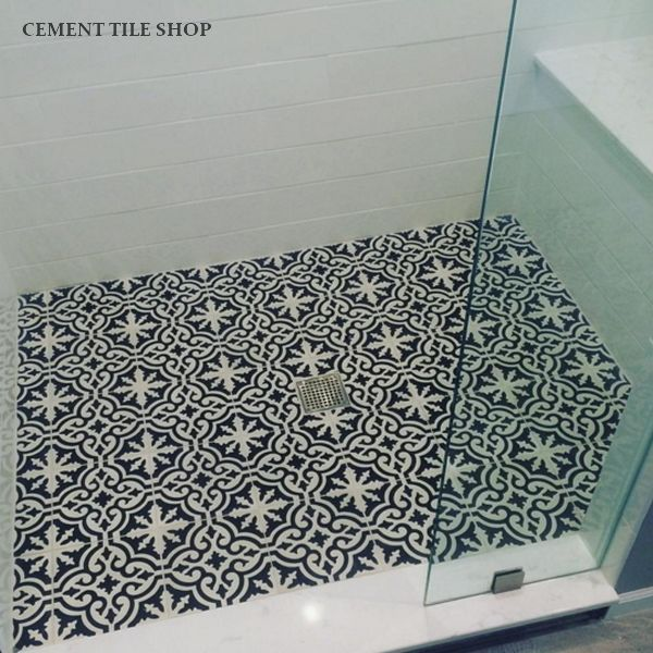 Cement Tile Shop  Encaustic Cement Tile Bordeaux
