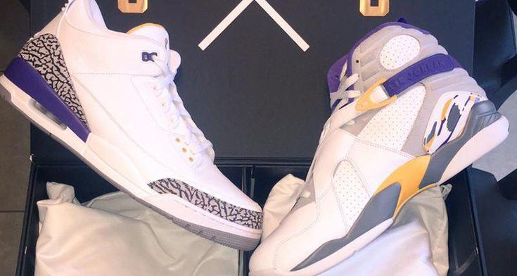 Marcus Jordan Also Shows Us His Very Own Air Jordan Kobe Pack