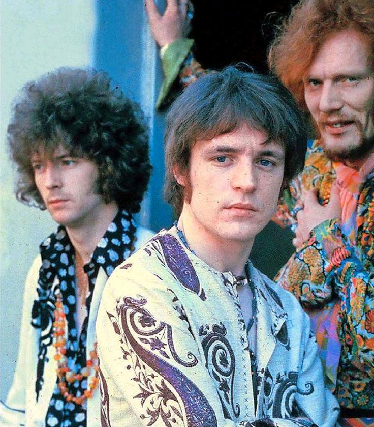 Eric Clapton, Jack Bruce, Ginger Baker: Cream
