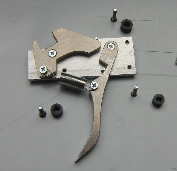 Picture of Crossbow trigger mechanism (simple but sturdy)