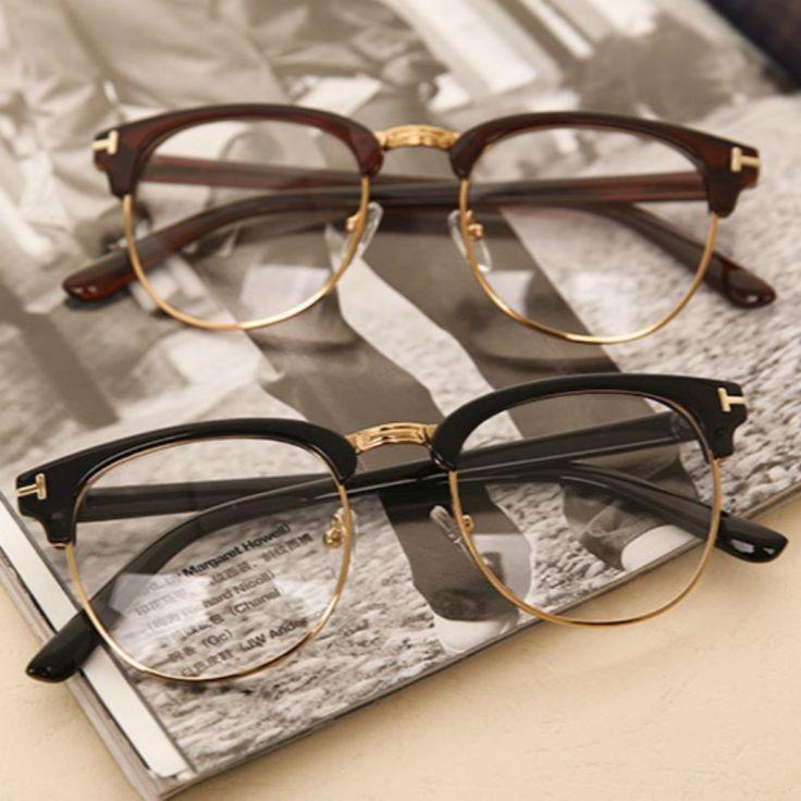 Mode Brillen Myopie Optische Computer Brillengestell Frauen Männer Markendesign… – Random