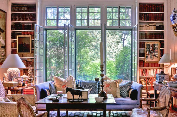 Interior Design by Furlow Gatewood - love the windows