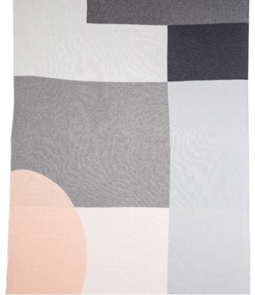 Kate and Kate Alpha Classic Blanket (Peach/Grey)
