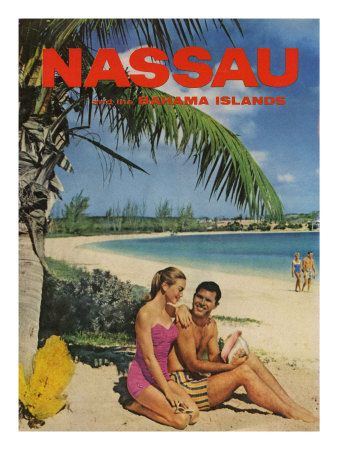 Nassau And Bahama Islands, Magazine Advertisement, UK, 1950