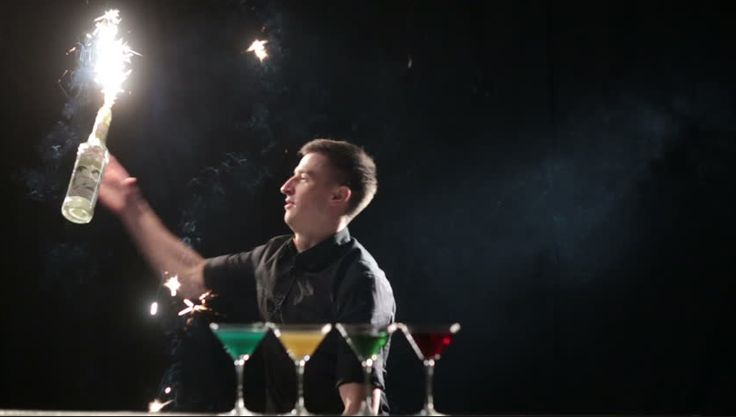 Set your party on fire and book one of our Flair Bartenders today!
