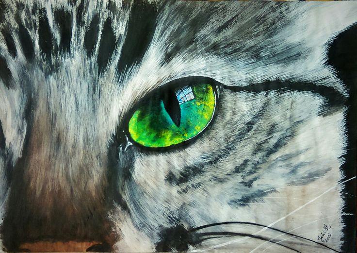 By JuhVik Cica, macska, cat, cat eye
