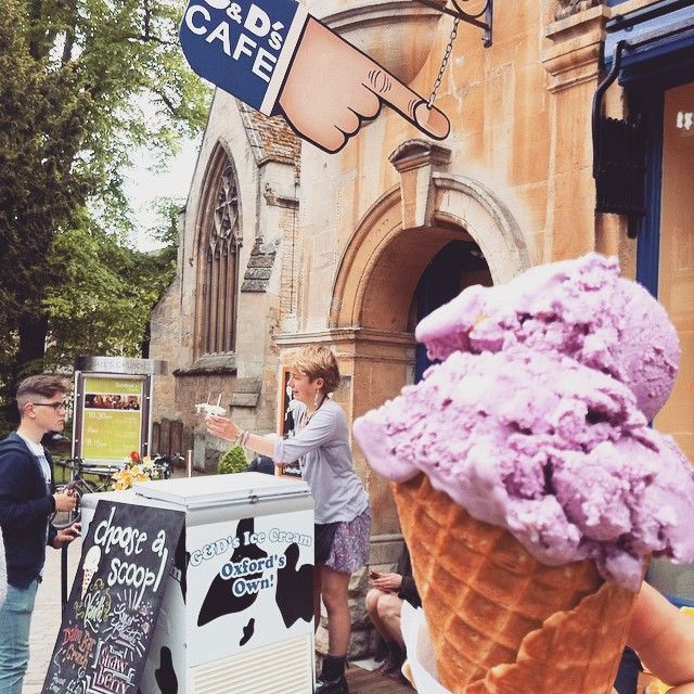 Best #icecream shop in #Oxford ! #England #uk #cafe #travel #travelingram #travelphotography #オックスフォード#イングランド#イギリス#旅#女子旅#アイスクリーム#カフェ#カフェ巡り