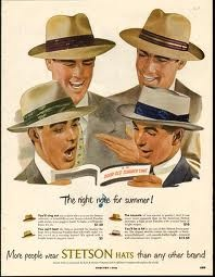 "Stetson Straw Hats: ""The Right Note for Summer"""