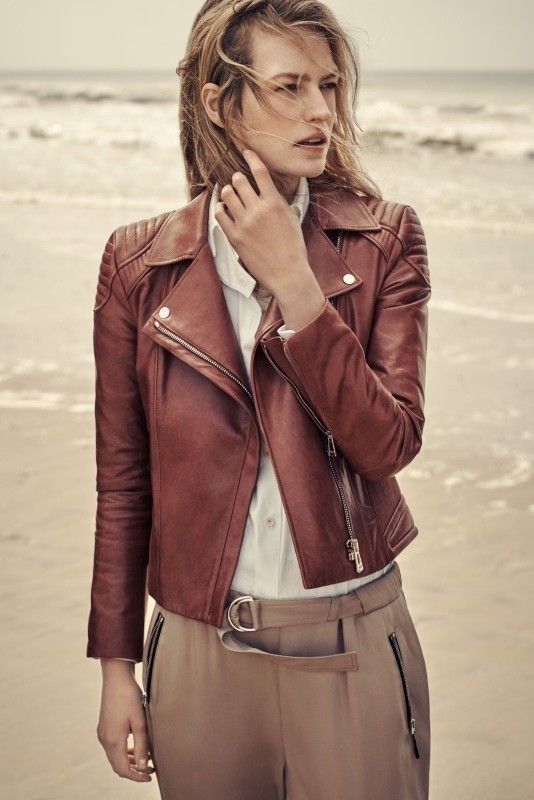 80 Most Stylish Leather Jackets for Women in 2017