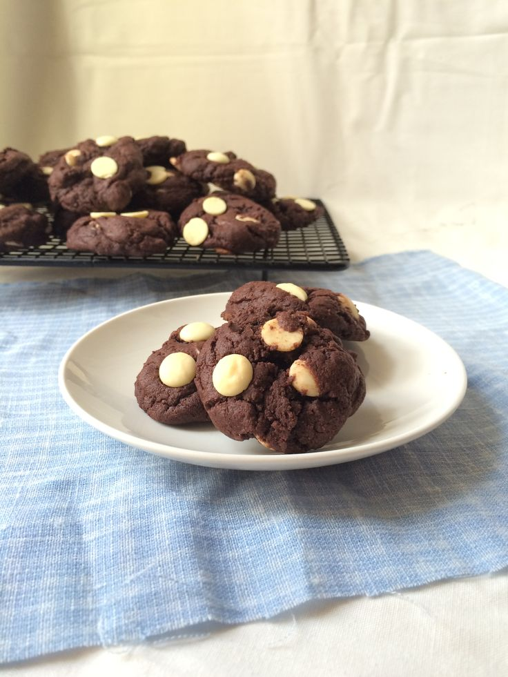 Double Chocolate Pudding Cookies - Powered by @ultimaterecipe