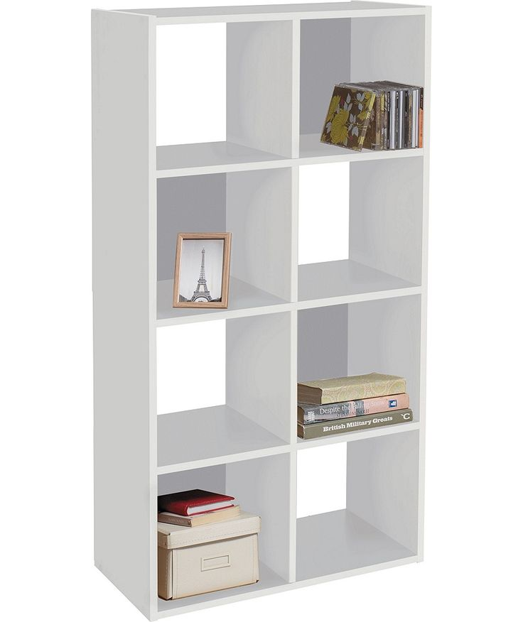 Buy squares 8 cube unit white at your for Bedroom units argos