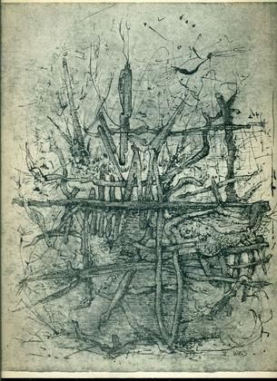 Wols. Zurich, Galerie Charles Lienhard, 1959. Catalogo di mostra, 4-31 agosto 1959. Testo di Will Grohmann ed uno di Grety Wols in francese