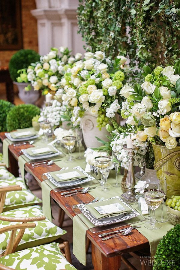 Beautiful alfresco entertaining celebration