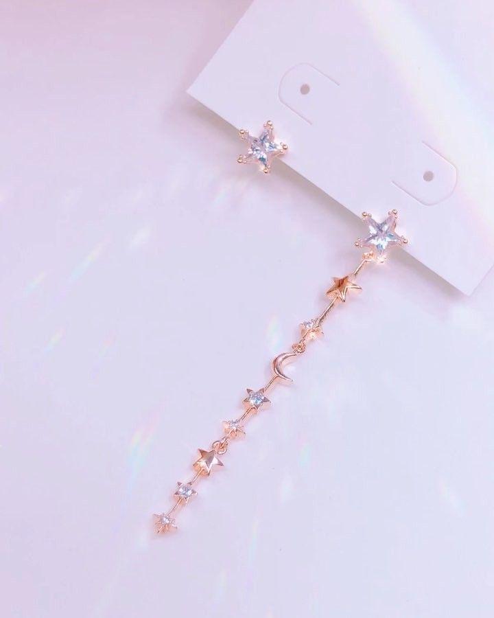 4b57861ba9a95 Pin de 𝓪𝓷𝓰𝓮 em jewelry em 2019   Brincos delicados, Brincos e  Acessórios tumblr