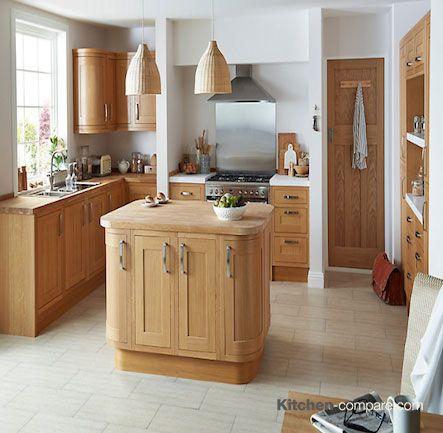 55 best Get The Look > Kitchen: B&Q Oak Framed images on Pinterest ...