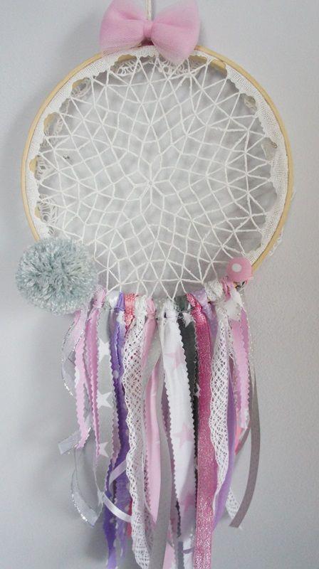 handmade dreamcatcher www.mamapotrafi.pl