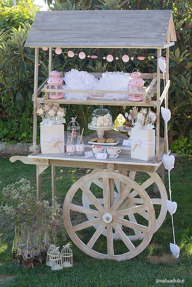 Vintage Candy or Dessert Bar Cart