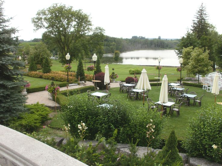 Shot Of The Wedding Venue In Caledon