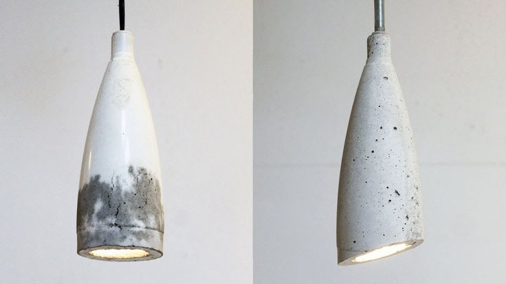 In Episode 9 of HomeMade Modern, Ben shows how to make a concrete pendant lamp out of plastic soda bottles.