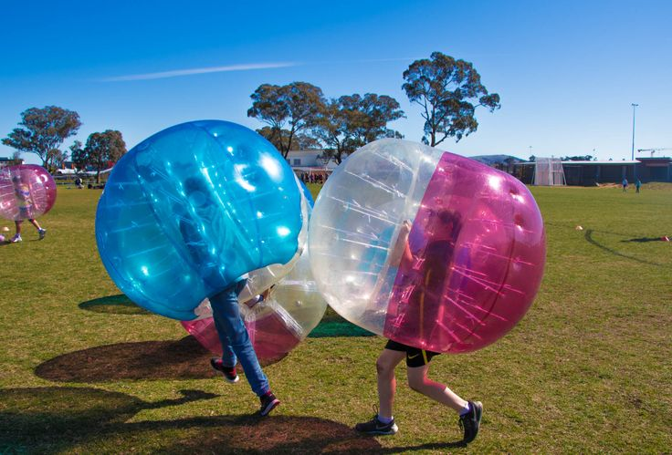 A big #BubbleSoccer hit at this #BirthdayParty  #BubbleSoccer2u #Melbourne #Canberra #KidsParty